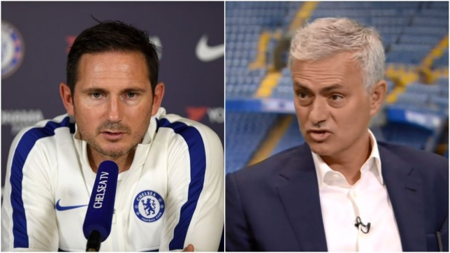 Lampard and Mourinho