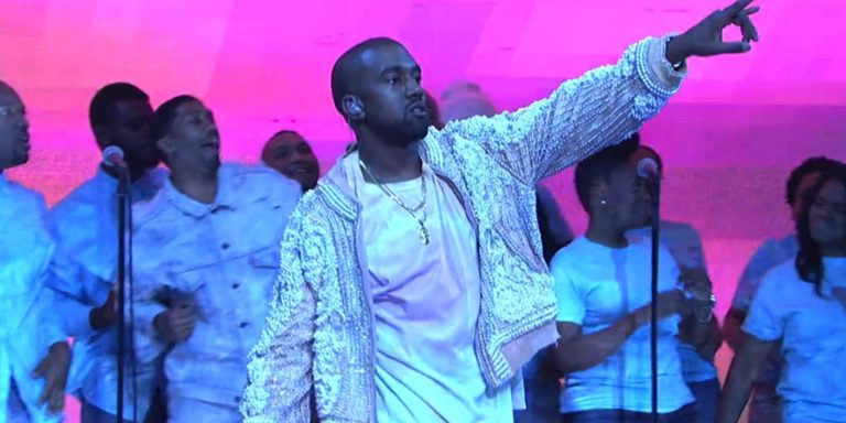 Strip club invites kanye West to sunday service